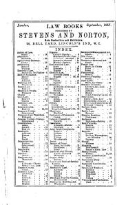 The Joint Stock Companies Acts of 1857. ... With an Introduction, Practical Notes, and an Appendix of Forms