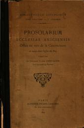 Prosolarium ecclesiae Aniciensis ...