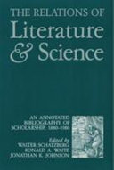 The Relations of Literature and Science PDF