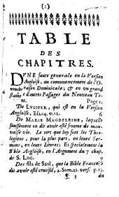 Shibboleth: ou réformation de quelques passages dans les versions françoise et angloise de la Bible, correction de diverses opinions communes, peintures historiques, et autres matières