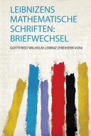 Leibnizens Mathematische Schriften PDF