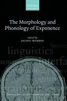 The Morphology and Phonology of Exponence PDF