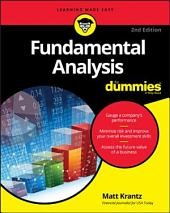 Fundamental Analysis For Dummies: Edition 2