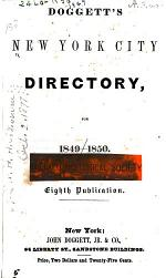 The New York City Directory ...