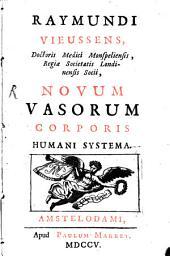 Novum vasorum corporis humani systema