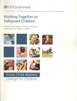 Working Together to Safeguard Children PDF