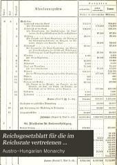 Reichsgesetzblatt für die im Reichsrate vertretenen Königreiche und Länder