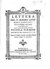 Lettera ... intorno l'origine, vicende, e successivi dominj della terra di Reggiolo
