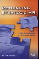 Rethinking Strategic HR PDF