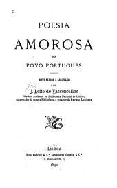 Poesia amorosa do povo português: breve estudo e collecção