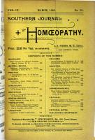 The Southern Journal of Homoeopathy PDF