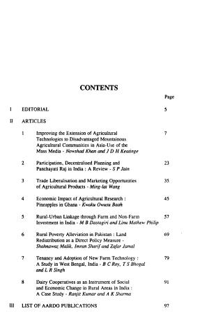 Afro Asian Journal of Rural Development PDF