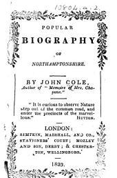 Popular Biography of Northamptonshire