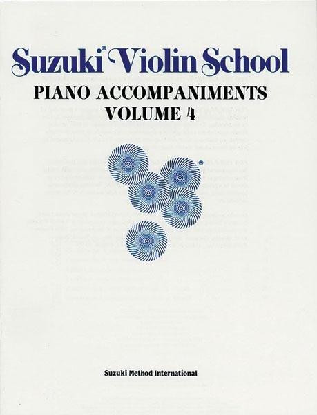 Suzuki Violin School   Volume 4