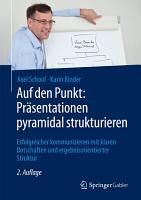 Auf den Punkt  Pr  sentationen pyramidal strukturieren PDF