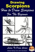 Drawing Scorpions   How to Draw Scorpions For the Beginner PDF