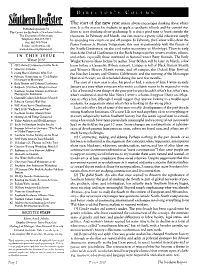 The Southern Register PDF
