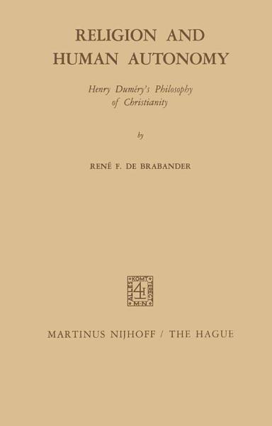 Religion and Human Autonomy PDF