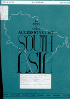 Accessions List  South Asia PDF