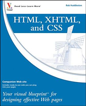 HTML  XHTML  and CSS PDF