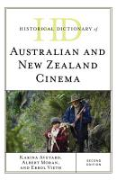 Historical Dictionary of Australian and New Zealand Cinema PDF