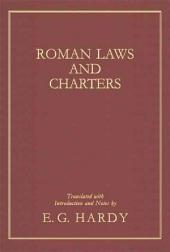 Roman Laws and Charters