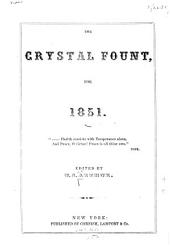 The Crystal Fount for 1851