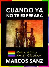 Cuando ya no te esperaba: Relato erótico de temática gay