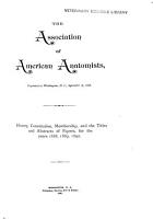 Proceedings of the Annual Session PDF