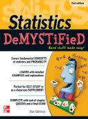 Statistics DeMYSTiFieD, 2nd Edition
