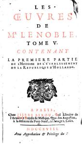 Les oeuvres de Mr Le Noble: Volume5