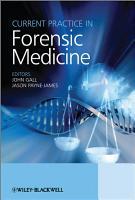 Current Practice in Forensic Medicine PDF