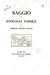 Saggio di zoologia fossile di Tommaso Antonio Catullo