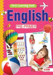 First Learning book English Pre-Primer