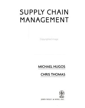 Supply Chain Management in the Retail Industry PDF