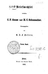 Briefwechsel zwischen C. F. Gauss und H. C. Schumacher: 4, Bände 3-4