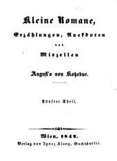 Ausgewählte prosaische Schriften: Enthaltend : die Romane, Erzählungen, Anekdoten und Miszellen, Band 18