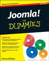 Joomla! For Dummies: Edition 2