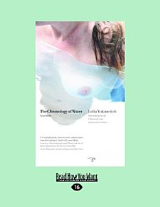 The Chronology of Water  Large Print 16pt  Book