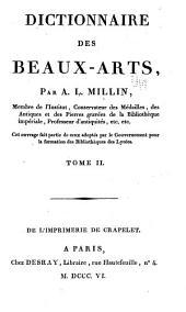 Dictionnaire des beaux-arts: Volume2