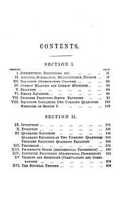 A first book of algebra, including the binomial theorem