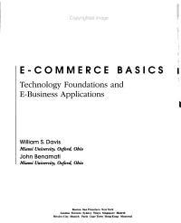E commerce Basics PDF