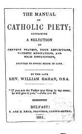 The manual of catholic Pisty