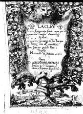 La Clio overo cinquanta sonetti sopra piu persone della famiglia o casata degli Adimari che da che s'ha notizia del suo principio in Firenze fino all'anno 1550