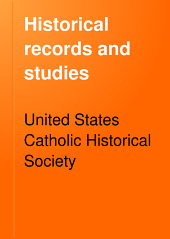 Historical Records and Studies: Volume 12