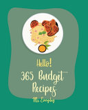Hello  365 Budget Recipes