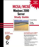 MCSA   MCSE  Windows 2000 Server Study Guide PDF