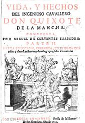 Vida y hechos del ingenioso cavallero don Quixote de la Mancha, 2