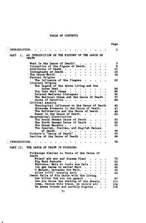 The Dance of Death in Folk songs PDF