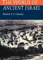 The World of Ancient Israel PDF